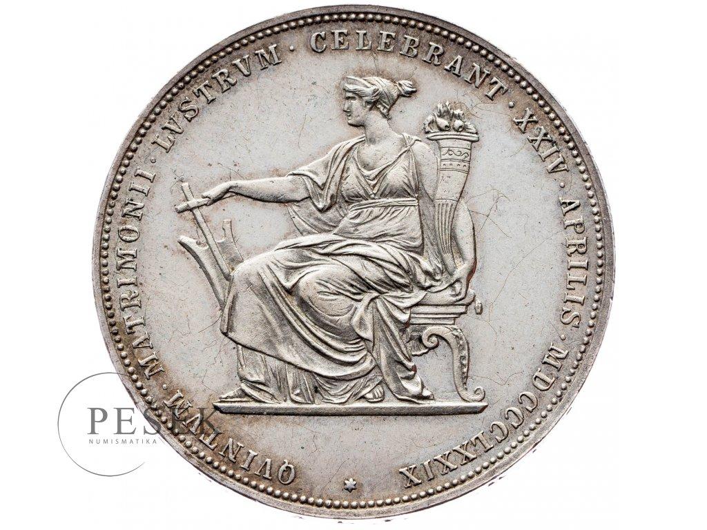 2 Zlatník 1879 - Stříbrná svatba