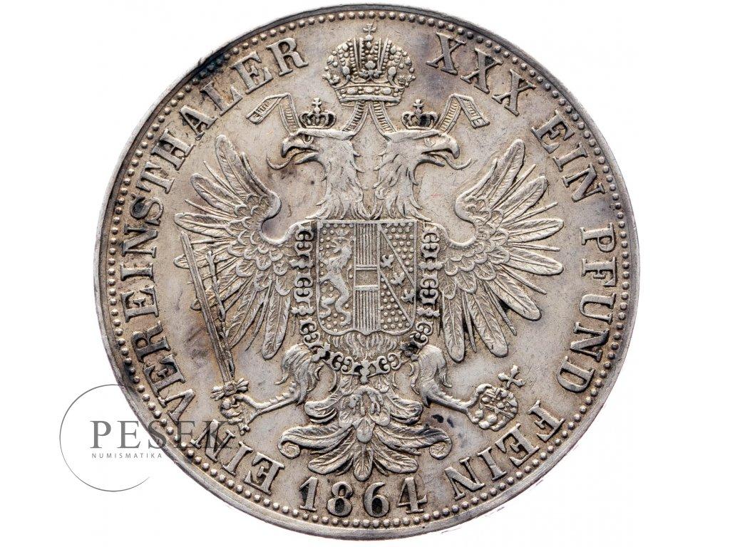 Spolkový tolar 1864 A