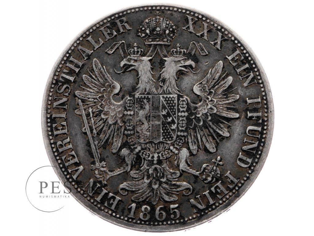 Spolkový tolar 1865 A