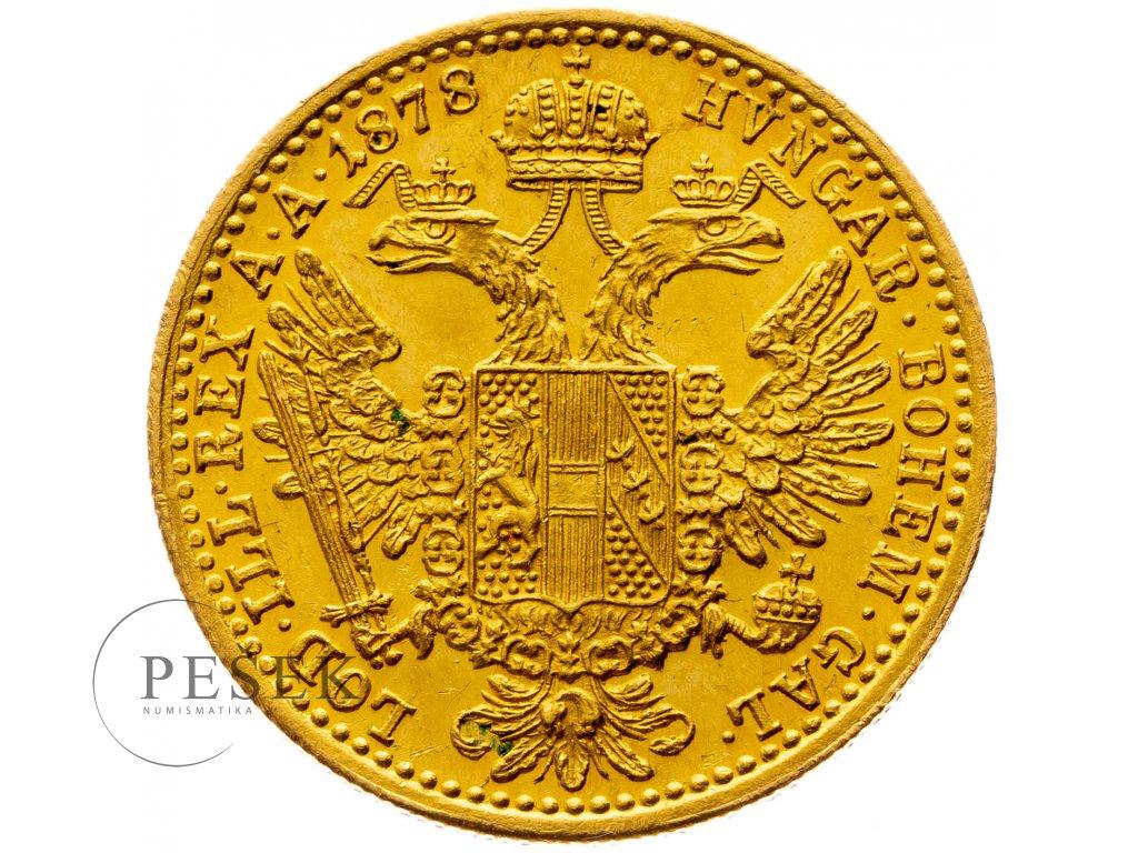 Dukát 1878 bz