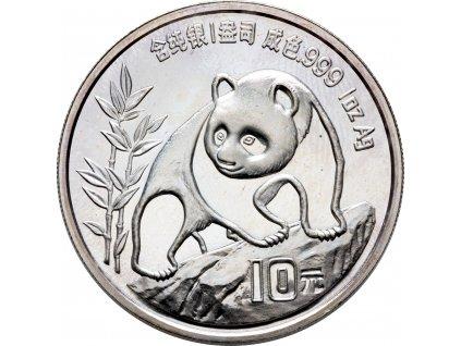 1620 10 yuan cina panda 1oz 1990