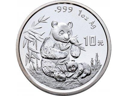 1638 10 yuan cina panda 1oz 1996
