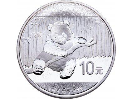 1686 10 yuan cina panda 1oz 2014