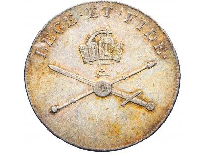 2961 korunovacni zeton 1792