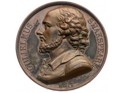 4293 medaile 1818 shakespeare