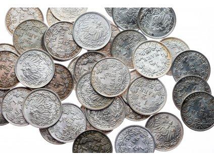 4563 1 2 marka 1905 1919 unc nahodny rocnik