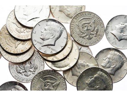4605 kennedy 1 2 dollar 1964 ef xf