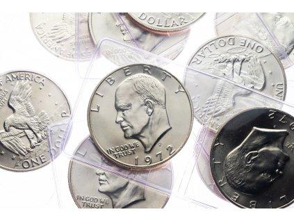 4608 eisenhower dollar stribro 1972 s bu