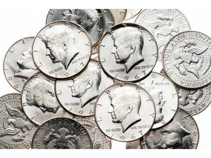 4614 kennedy 1 2 dollar 1967 bu