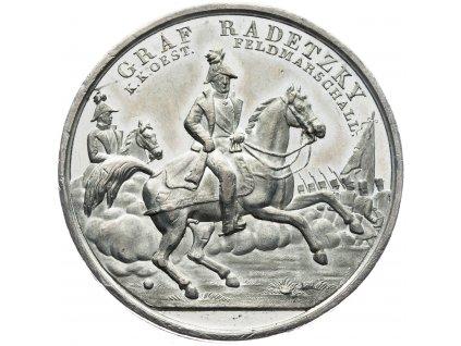 4797 medaile radetzky 1848