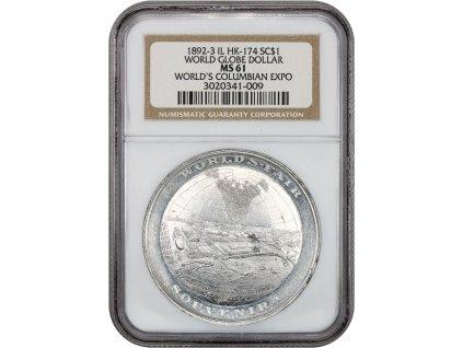 5325 medaile 1892 3 columbian expo