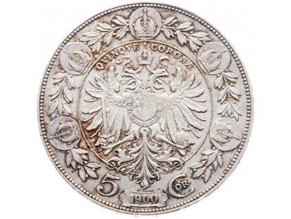 5646 5 koruna 1900 bz
