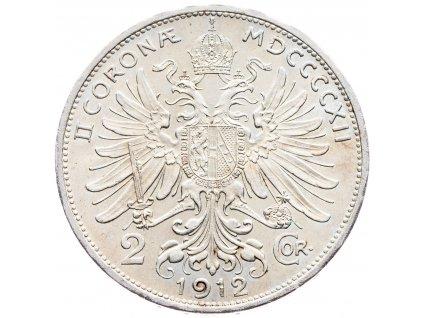 5670 2 koruna 1912 bz