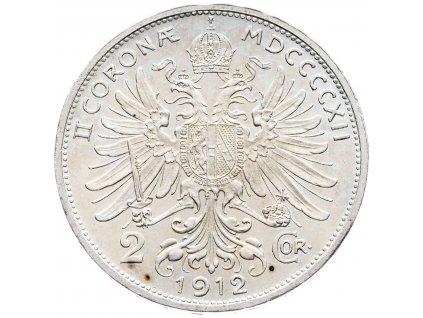 5676 2 koruna 1912 bz
