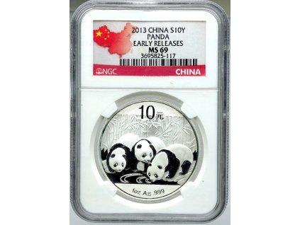10 Yuan 2013 red