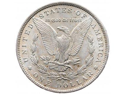 6789 morgan dollar 1885 o