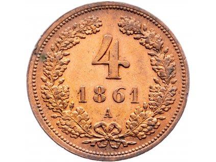 6894 4 krejcar 1861 a