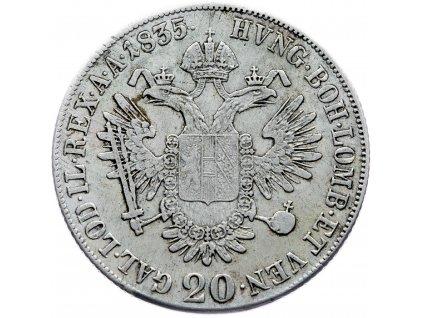 6945 20 krejcar 1835 c