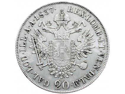 6948 20 krejcar 1837 c