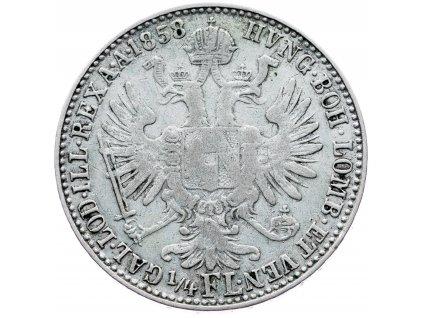 6993 1 4 zlatnik 1858 m