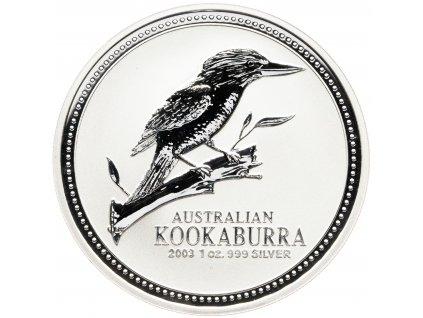 7116 1 dollar australie kookaburra 1oz 2003 31 1g ag 999 1000