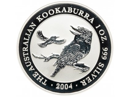 7119 1 dollar australie kookaburra 1oz 2004 31 1g ag 999 1000
