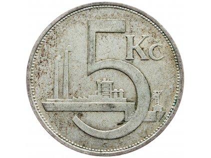 7155 5 koruna 1929