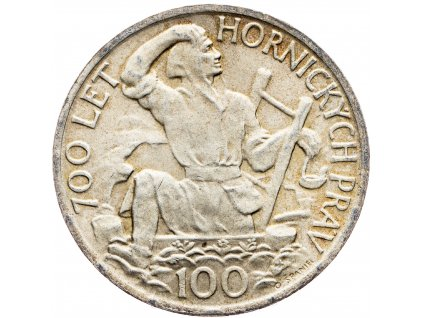 7224 100 koruna 1949 700 let hornickych prav v jihlave