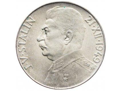 7227 50 koruna 1949 j v stalin