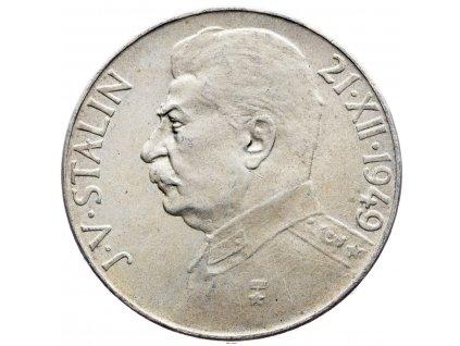 7230 100 koruna 1949 j v stalin