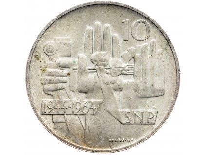 7260 10 koruna 1964 20 let snp