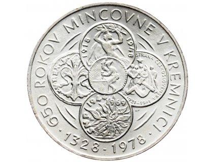 7347 50 koruna 1978 mincovna kremnica