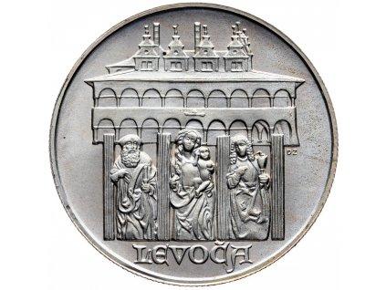7422 50 koruna 1986 levoca