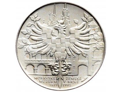 7494 100 koruna 1992 moravske zemske muzeum v brne