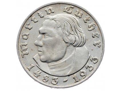 7641 nemecko 2 marka 1933 a
