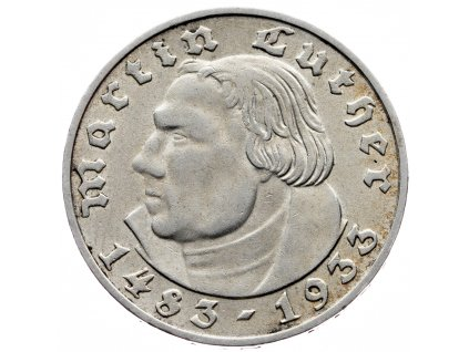 7650 nemecko 2 marka 1933 d