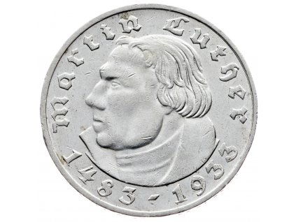 7653 nemecko 2 marka 1933 e