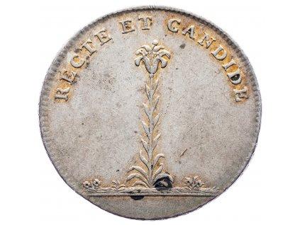 7767 maly korunovacni zeton 1808 bratislava