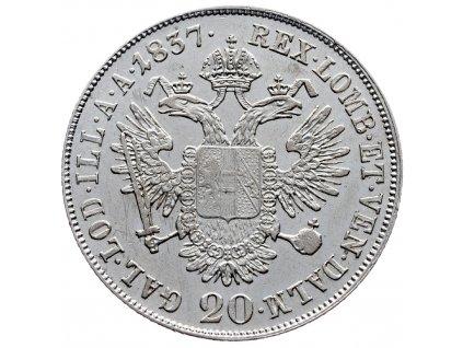 7782 20 krejcar 1837 a
