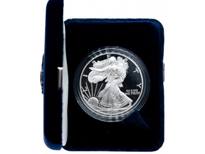 8511 2 american eagle 2000 p proof 31 1g ag 999 9 1000