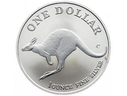 8541 australie kangaroo 1998 31 1g ag 999 1000