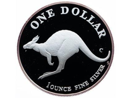 8544 australie kangaroo 1998 proof 31 1g ag 999 1000