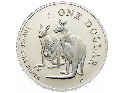 8547 australie kangaroo 1999 31 1g ag 999 1000