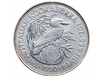 8556 australie kookaburra 1990 31 1g ag 999 1000