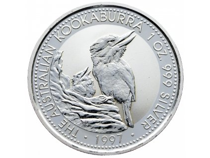 8577 australie kookaburra 1997 31 1g ag 999 1000