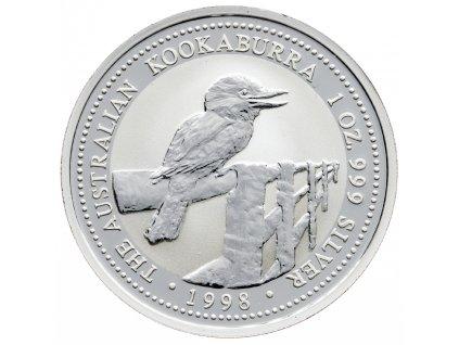 8580 australie kookaburra 1998 31 1g ag 999 1000