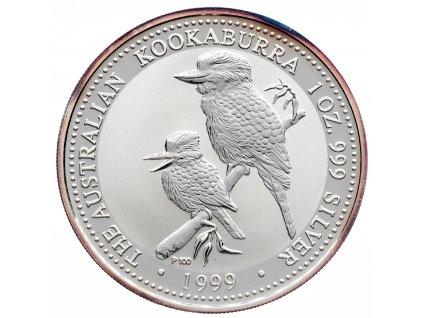 8583 australie kookaburra 1999 31 1g ag 999 1000