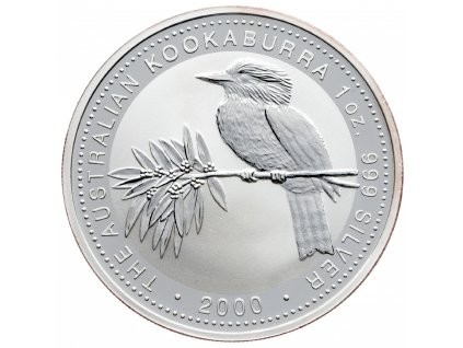 8586 australie kookaburra 2000 31 1g ag 999 1000