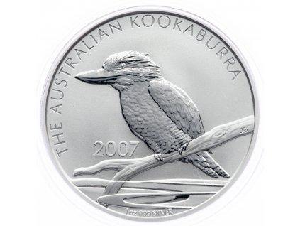 8607 australie kookaburra 2007 31 1g ag 999 1000
