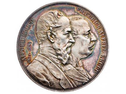 8994 medaile 1887 a scharff